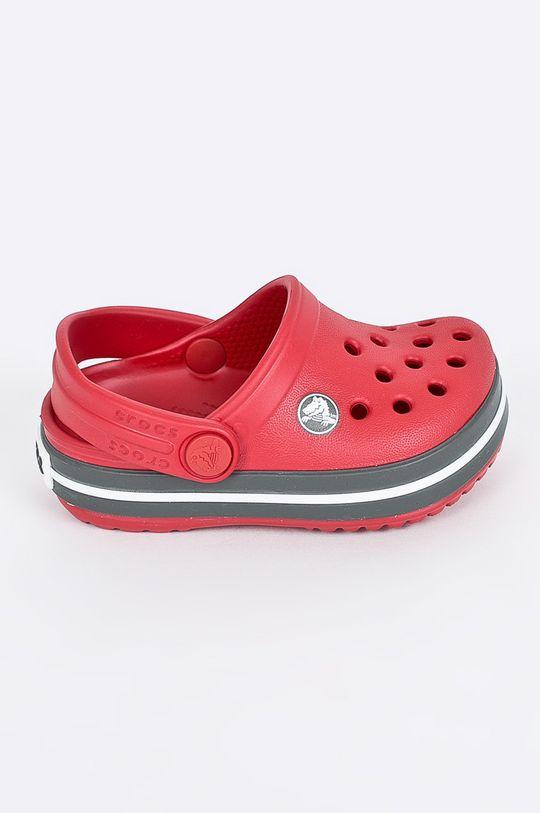 ostry czerwony Crocs - Klapki dziecięce Dziecięcy