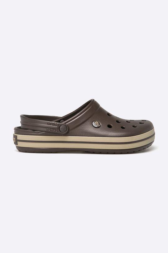 maro inchis Crocs - Papuci Crocband De bărbați