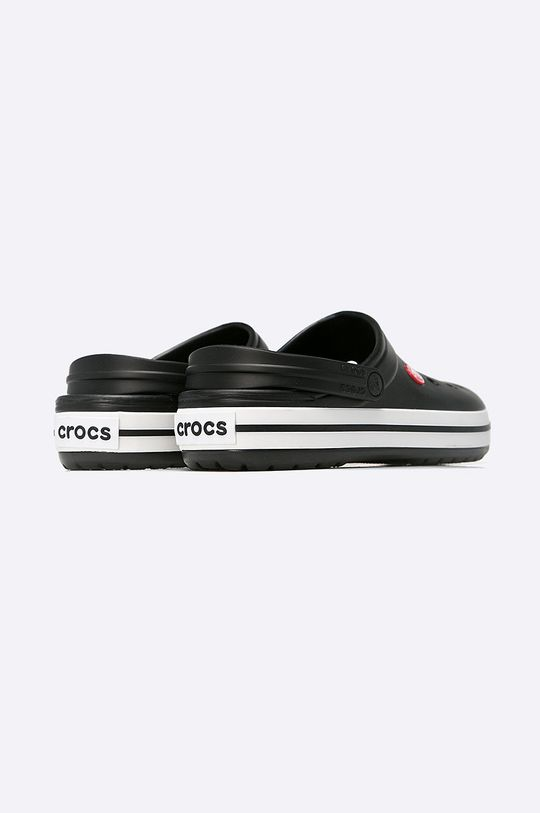 čierna Crocs - Šľapky