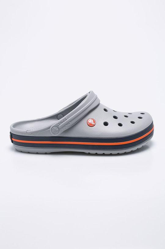 jasny szary Crocs - Klapki Męski