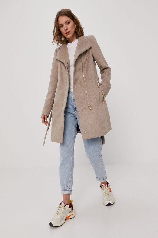Vero Moda - Płaszcz piaskowy