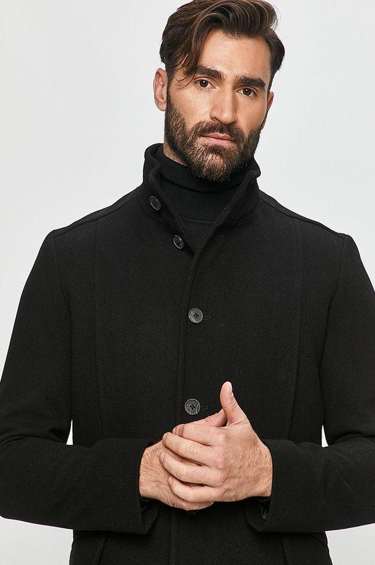 čierna Selected - Kabát