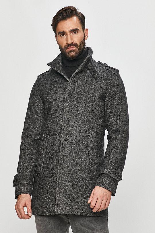 gri Selected - Palton De bărbați