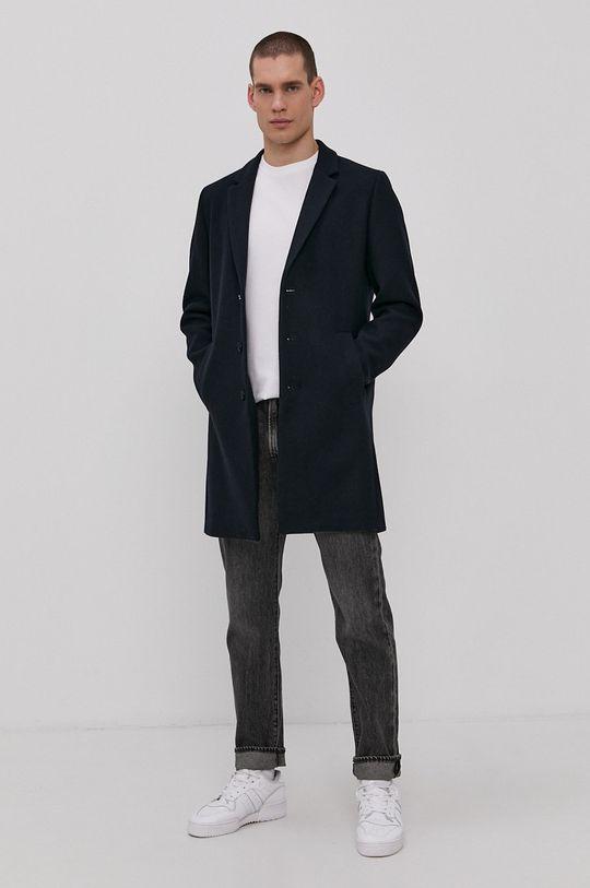 Jack & Jones - Kabát námořnická modř