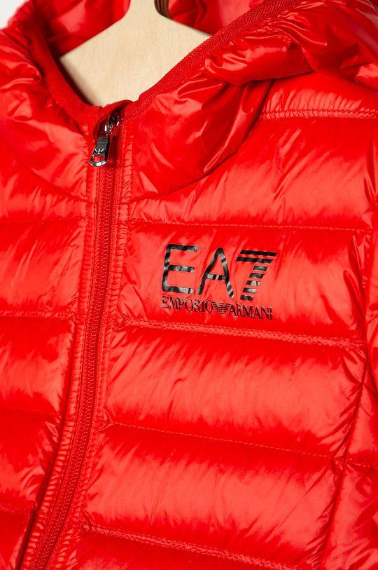 EA7 Emporio Armani - Geaca de puf pentru copii 104-134 cm  Captuseala: 100% Poliamida Umplutura: 10% Pene, 90% Puf Materialul de baza: 100% Poliamida