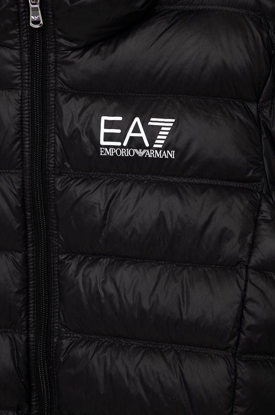 EA7 Emporio Armani - Dětská péřová bunda 104-134 cm <p>  Podšívka: 100% Polyamid  Výplň: 10% Peří, 90% Chmýří  Hlavní materiál: 100% Polyamid</p>