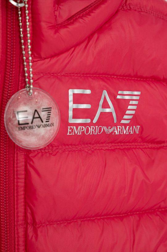 EA7 Emporio Armani - Bezrękawnik dziecięcy 104-164 cm czerwony