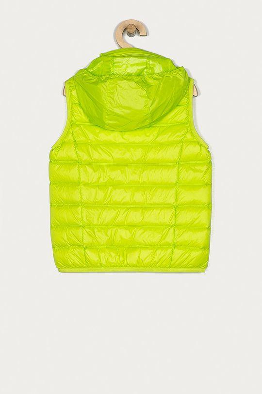 EA7 Emporio Armani - Bezrękawnik dziecięcy 104-164 cm żółto - zielony