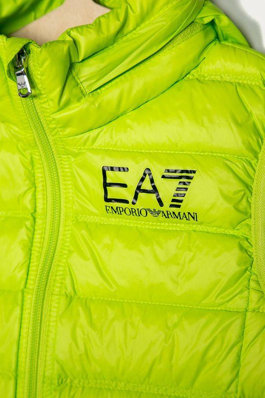 EA7 Emporio Armani - Bezrękawnik dziecięcy 104-164 cm Podszewka: 100 % Poliamid, Wypełnienie: 10 % Pierze, 90 % Puch, Materiał zasadniczy: 100 % Poliamid