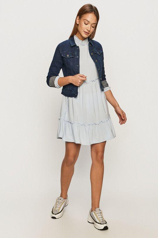 Jacqueline de Yong - Geaca jeans albastru