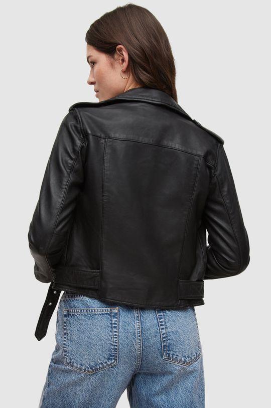 AllSaints - Kožená bunda Balfern Biker Dámský