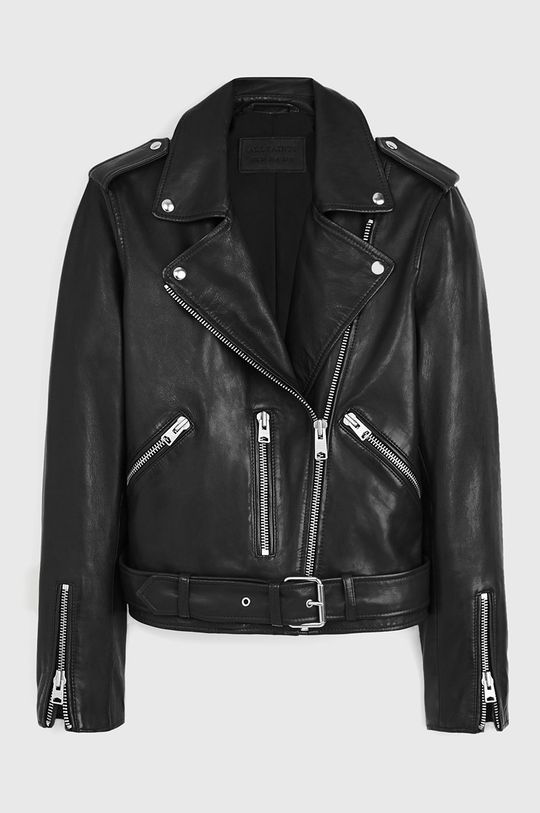 AllSaints - Kožená bunda Balfern Biker