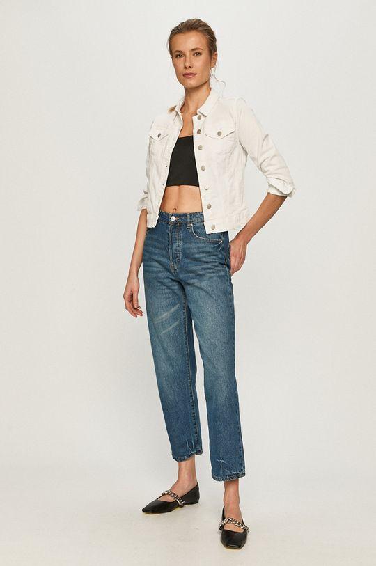 Vila - Kurtka jeansowa biały