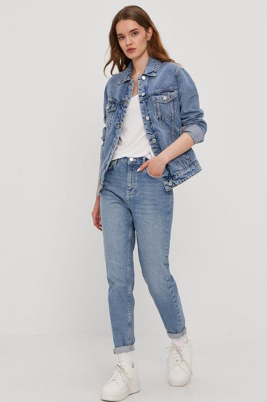 Vero Moda - Kurtka jeansowa niebieski