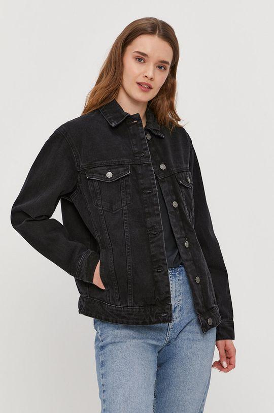 czarny Vero Moda - Kurtka jeansowa Damski