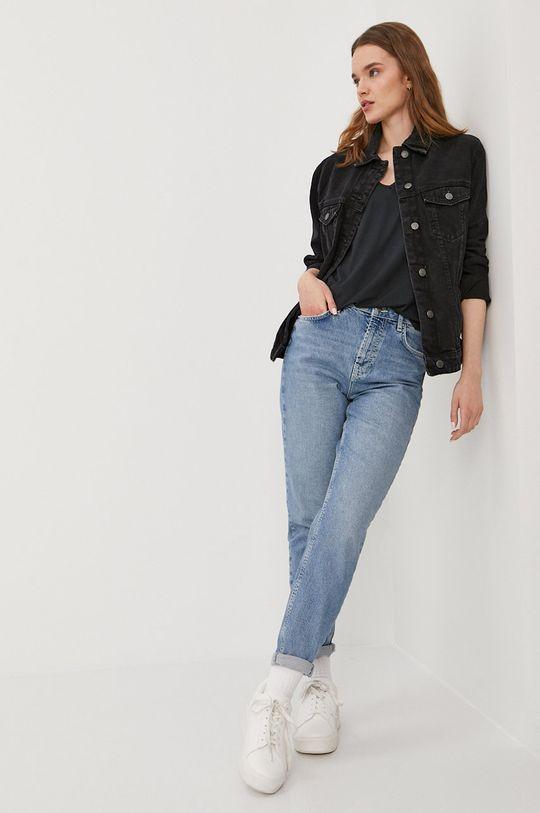 Vero Moda - Kurtka jeansowa czarny