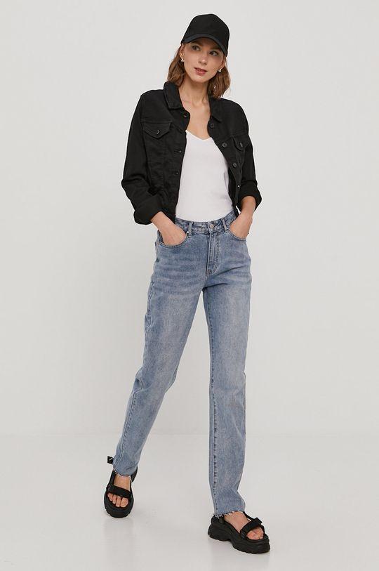 Vero Moda - Džínová bunda černá