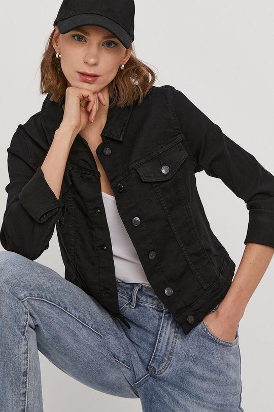 černá Vero Moda - Džínová bunda