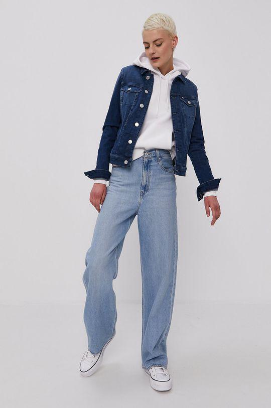 granatowy Tommy Jeans - Kurtka jeansowa