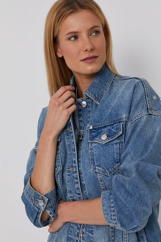 niebieski Armani Exchange - Kurtka jeansowa