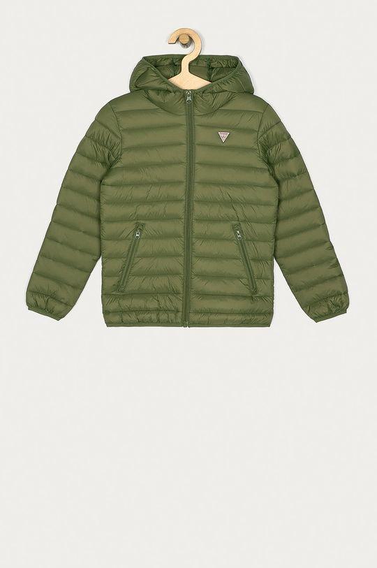 zelená Guess Jeans - Bunda Dětský