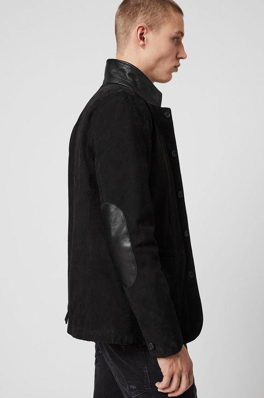 czarny AllSaints - Kurtka skórzana Survey LTHR Blazer