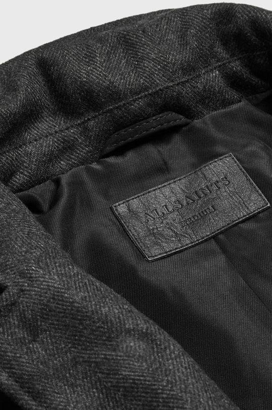 AllSaints - Kurtka skórzana Survey LTHR Blazer