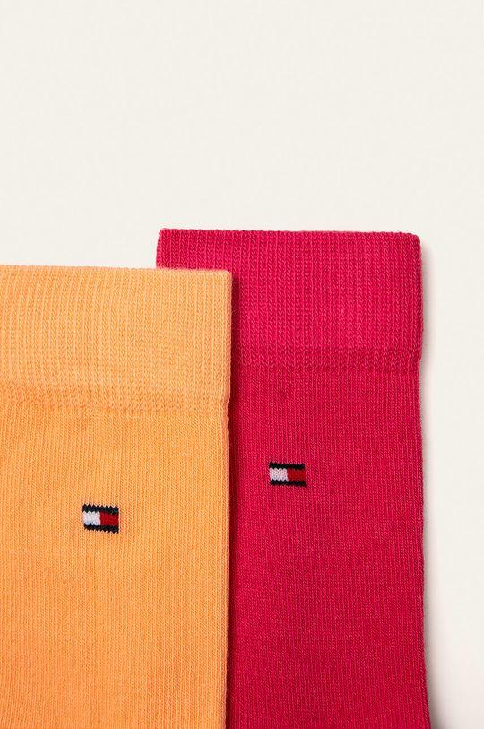 Tommy Hilfiger - Dětské ponožky 391334 růžová