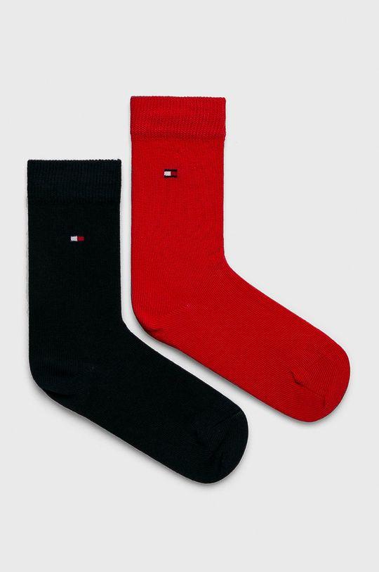 červená Tommy Hilfiger - Dětské ponožky (2-pack) Chlapecký