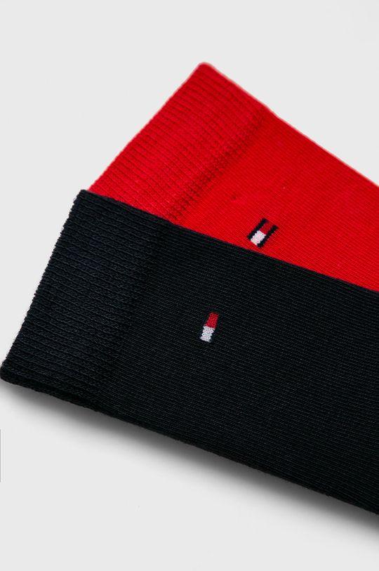 Tommy Hilfiger - Dětské ponožky (2-pack) červená
