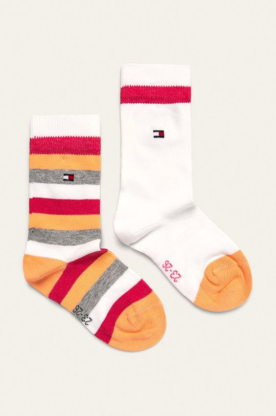 ružová Tommy Hilfiger - Detské ponožky (2-pak) Chlapčenský