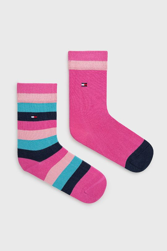 roz ascutit Tommy Hilfiger - Sosete copii (2-pack) De băieți