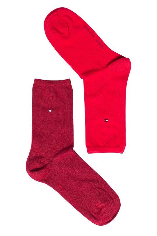 červená Tommy Hilfiger - Ponožky (2-pak) Dámsky