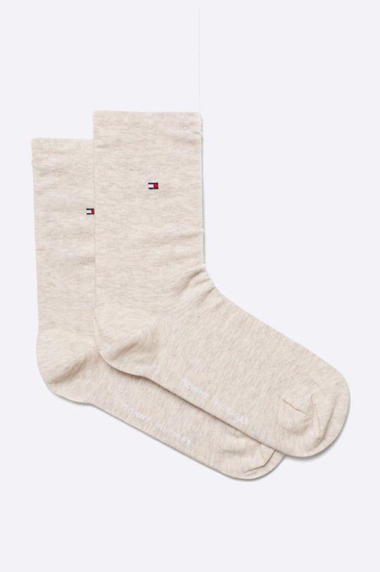 béžová Tommy Hilfiger Sportswear Dámské ponožky Roz. 35-38 (2-pak) Dámský