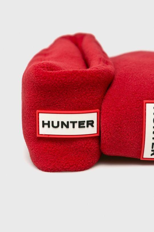 Hunter - Ponožky do holínek červená