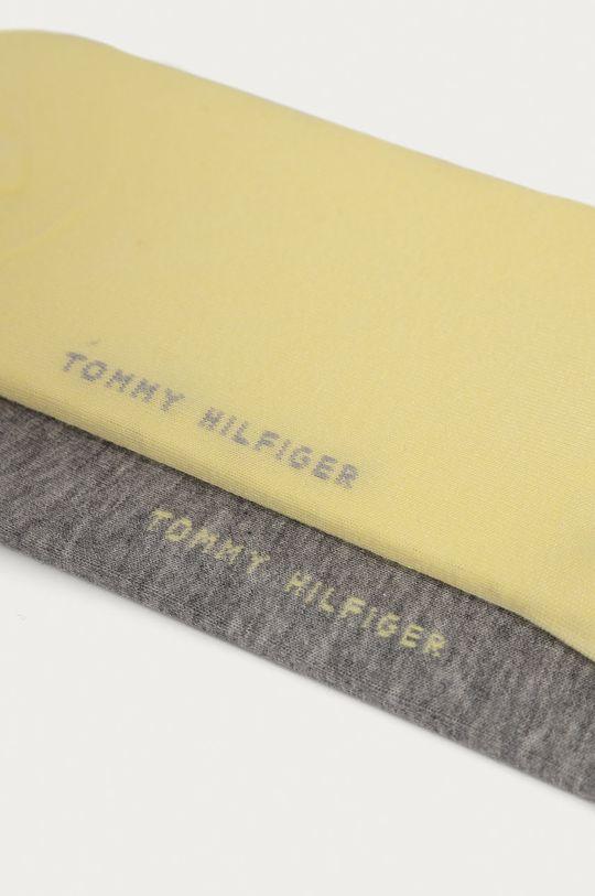 Tommy Hilfiger - Členkové ponožky (2-pak) žltá