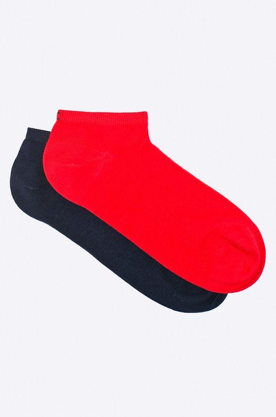 červená Tommy Hilfiger - Ponožky(sada 2 párů) Dámský