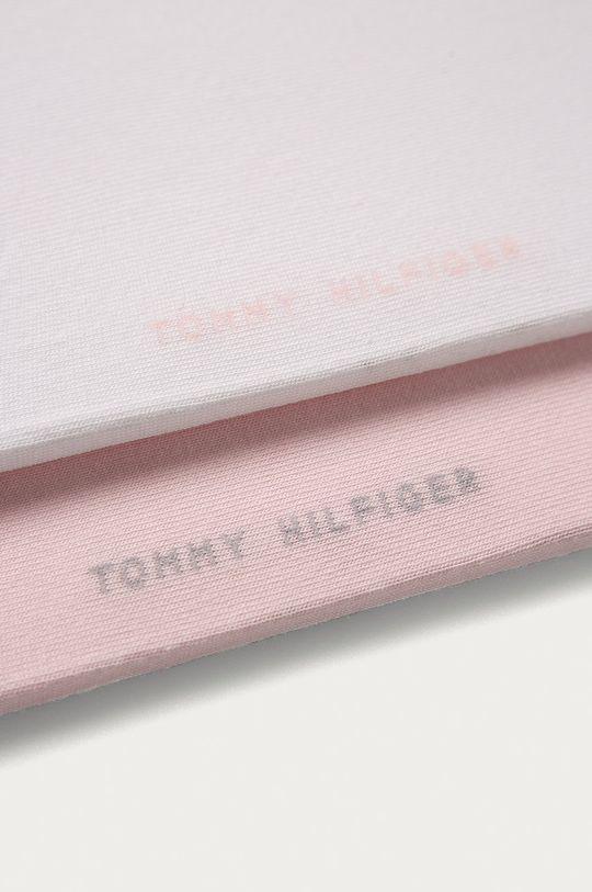 Tommy Hilfiger - Členkové ponožky (2-pak) staroružová