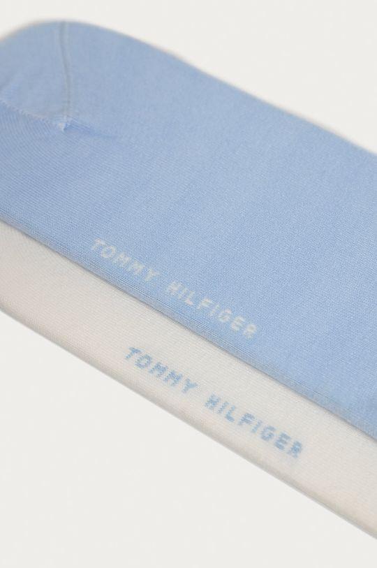 Tommy Hilfiger - Členkové ponožky (2-pak) svetlomodrá