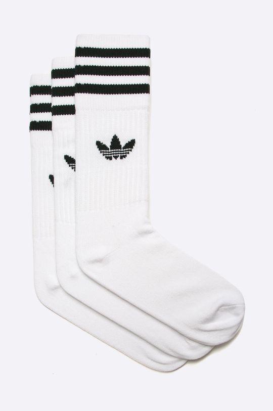 biały adidas Originals - Skarpetki (3-pack) Damski
