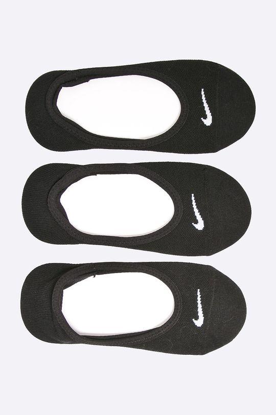 negru Nike -ciorapi ciupici (3/set) De femei