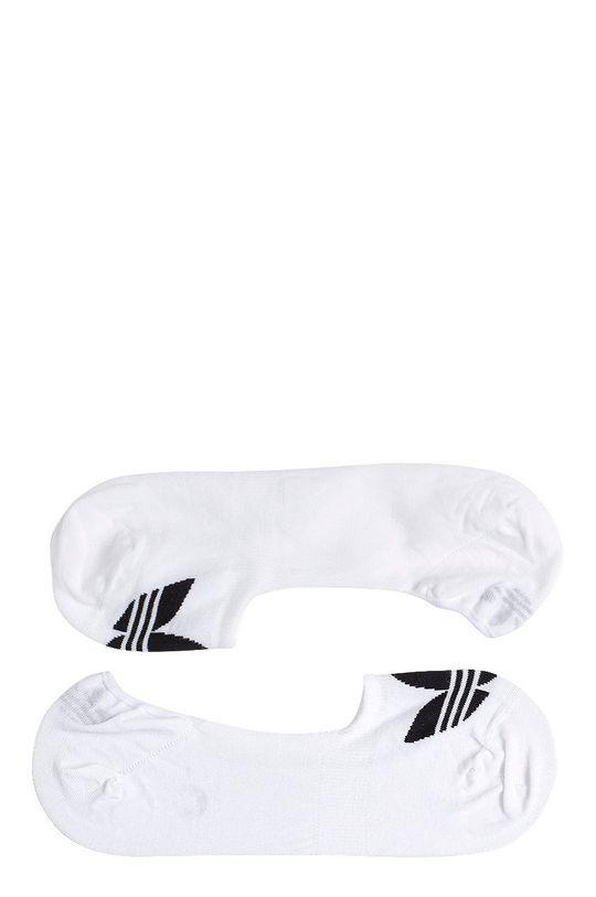 biela adidas Originals - Ponožky Sneaker Dámsky