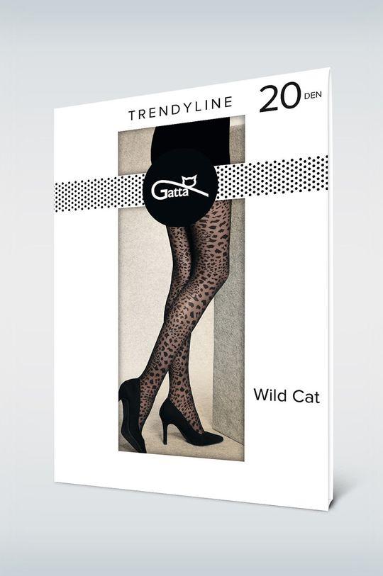 Gatta - Pančuchové nohavice Wild Cat 20 Den čierna
