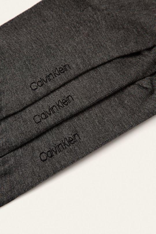 Calvin Klein - Ponožky (3-pack) šedá