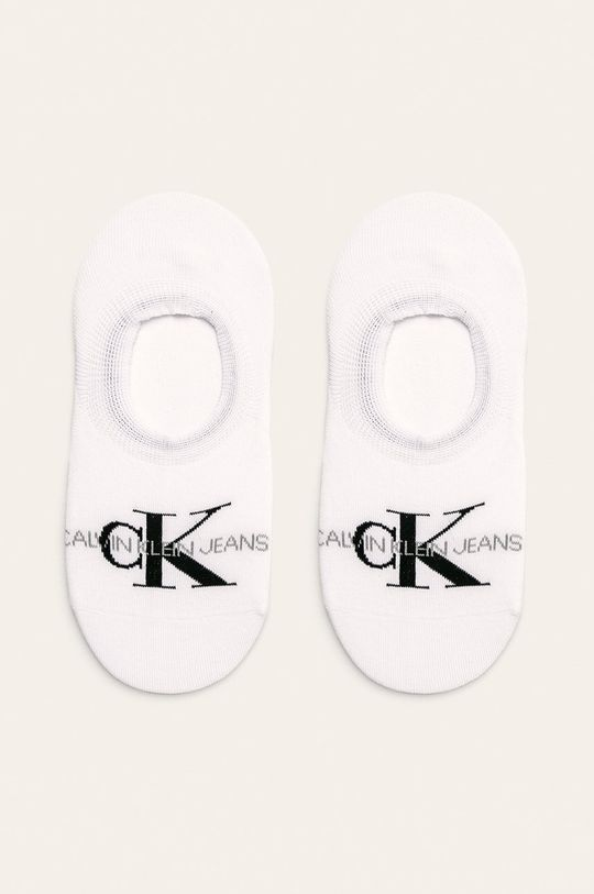 biela Calvin Klein - Členkové ponožky Dámsky