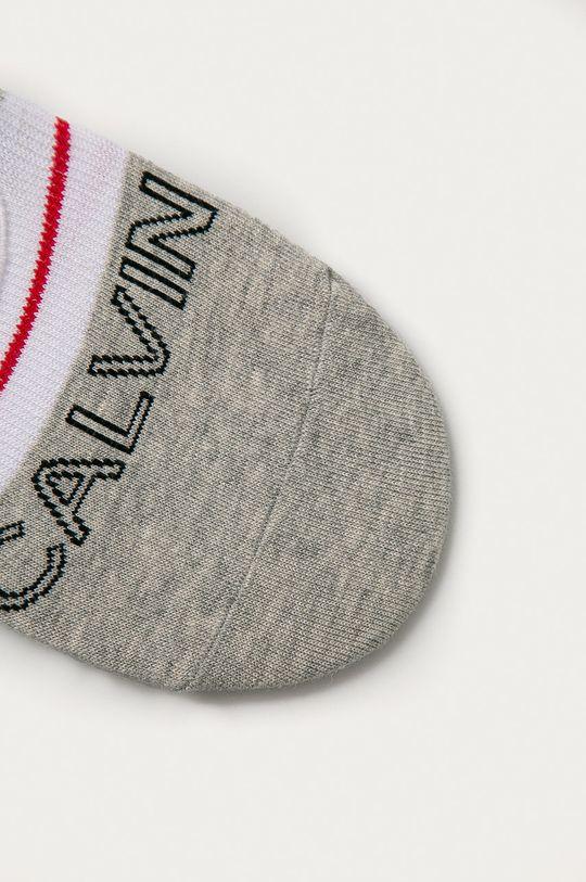 Calvin Klein - Kotníkové ponožky šedá