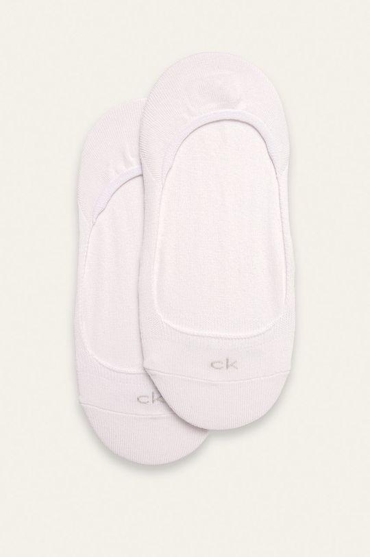 biały Calvin Klein - Stopki (2-pack) Damski