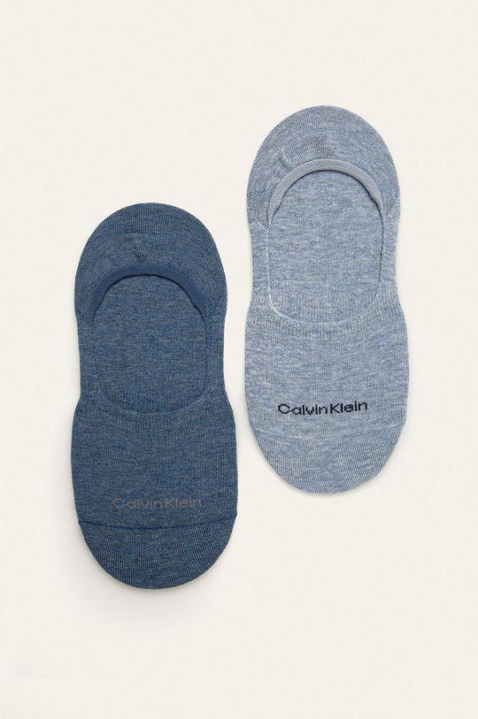 světle modrá Calvin Klein - Kotníkové ponožky (2-pack) Dámský