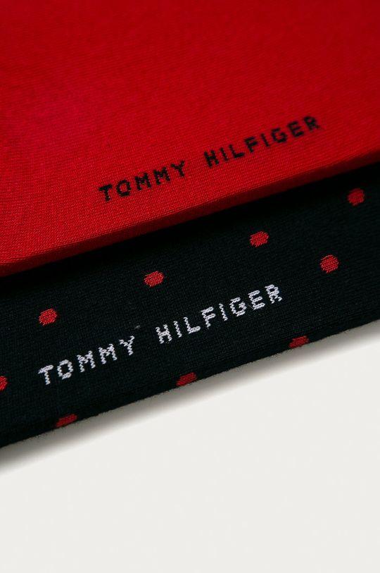 Tommy Hilfiger - Ponožky (2-pack) červená
