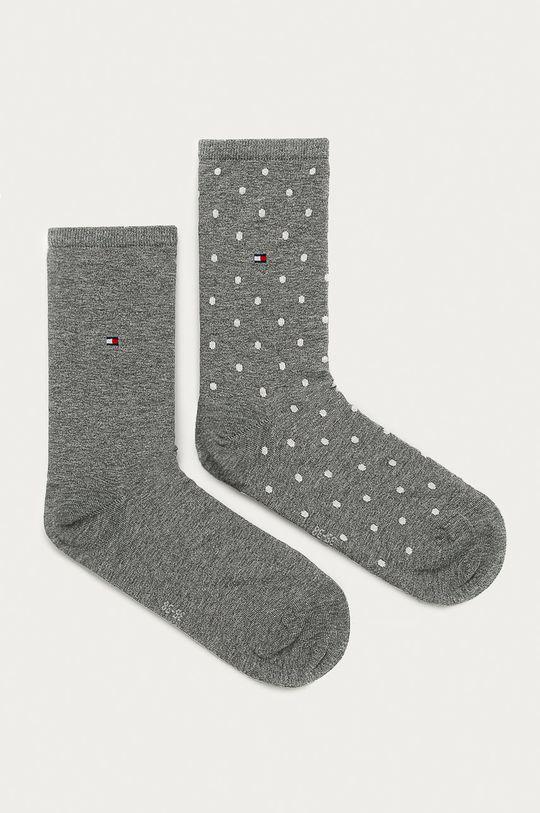 sivá Tommy Hilfiger - Ponožky (2-pak) Dámsky